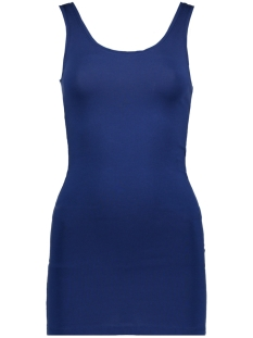 Only Top onlLIVE LOVE NEW LONG TANK TOP JRS 15175410 Blue Depths