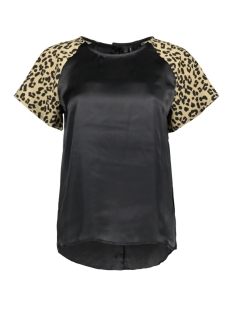 Vero Moda T-shirt VMBALI MIX S/S TOP EXP 10212593 Black/SLEEVE - T