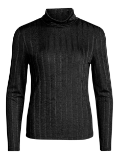 Vila T-shirt VILINETTE L/S ROLLNECK T-SHIRT 14047935 Black