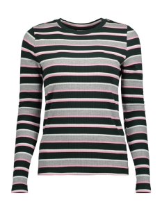 Noisy may T-shirt NMELSE L/S O-NECK TOP 6B 27003242 Pine Grove/LGM SACH