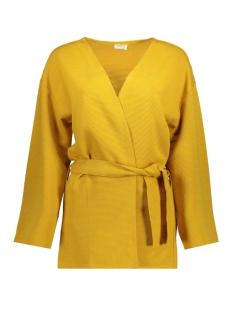 Jacqueline de Yong Vest JDYMAISE 7/8 CARDIGAN SWT 15160128 Golden Spice