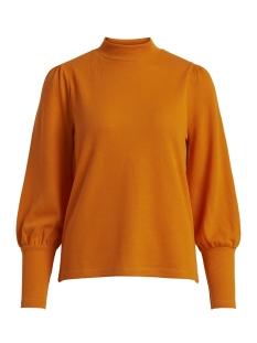 Vila Trui VIKELANA SWEAT TOP 14049766 Russet Orange