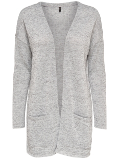 Only Vest onlSARA L/S LONG CARDIGAN NOOS JRS 15141525 Light Grey Melange