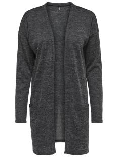 Only Vest onlSARA L/S LONG CARDIGAN NOOS JRS 15141525 Dark Grey Melange