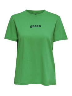 Only T-shirt onlCOLORED S/S TOP BOX JRS 15168963 Bright Green/GREEN
