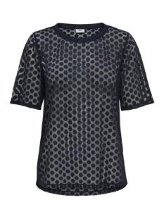 Jacqueline de Yong T-shirt JDYSABINE S/S TOP JRS EXP 15167336 Black