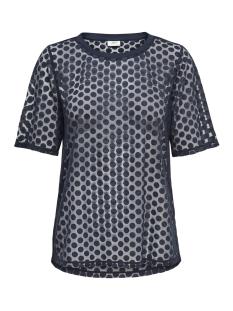 Jacqueline de Yong T-shirt JDYSABINE S/S TOP JRS EXP 15167336 Sky Captain
