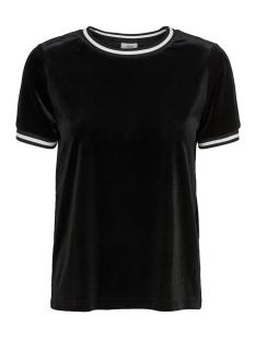 Jacqueline de Yong T-shirt JDYLEO S/S TOP JRS EXP 15166177 Black/BLACK WHITE