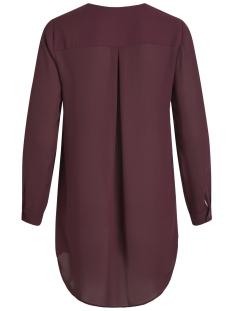 vilucy l/s tunic noos 14047189 vila blouse winetasting