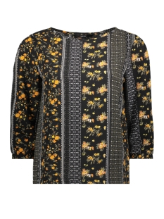 Vero Moda T-shirt VMALLY 3/4 TOP 10204512 Black/ALLY PRINT