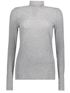 Vero Moda T-shirt VMJAKURI  L/S MIDI ROLLNECK D2-7 10205137 Light Grey Melange