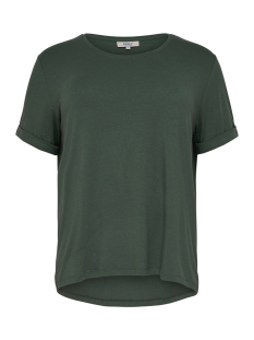 Only Carmakoma T-shirt carCARMA S/S TOP 15164205 Green Gables