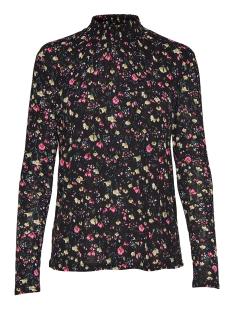 Jacqueline de Yong T-shirt JDYSVAN L/S AOP TOP JRS 15161125 Black Svan
