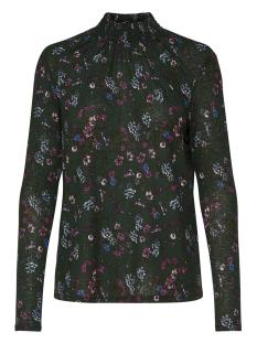 Jacqueline de Yong T-shirt JDYSVAN L/S AOP TOP JRS 15161125 Scarab Faye
