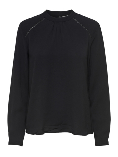 Only Blouse onlNEW MALLORY L/S BLOUSE SOLID WVN 15170784 Black