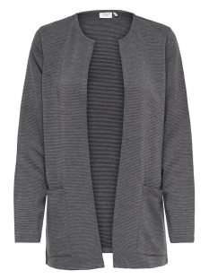 Jacqueline de Yong Vest JDYSAGA L/S CARDIGAN JRS NOOS 15154600 Dark Grey Melange