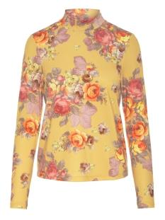 Vero Moda T-shirt VMGINA LS TOP JRS 10204468 Autumn Blaze