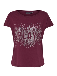 Only Play Sport shirt onpKAI  LOOSE SS TEE 15154580 Rhododendron/W- GUN MET