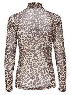 jdyandrea l/s roll neck top jrs exp 15166175 jacqueline de yong t-shirt black/leo