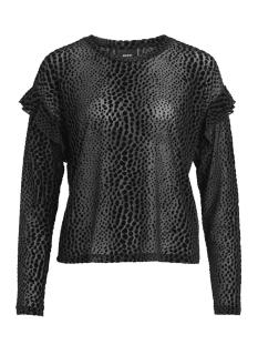 Object T-shirt OBJLEAH L/S TOP 99 23027690 Black