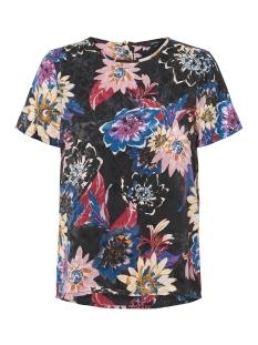 Vero Moda T-shirt VMSOFIA S/S MIDI TOP D2-7 10205391 Black/SOFIA