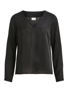 Vila Blouse VISHEENA L/S V-NECK TOP 14051108 Black