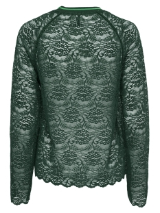 onlgwenny l/s top jrs 15164111 only t-shirt green gables/rib green