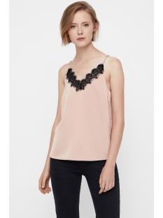 vmfanni lace singlet ga 10205833 vero moda top tuscany/black lace