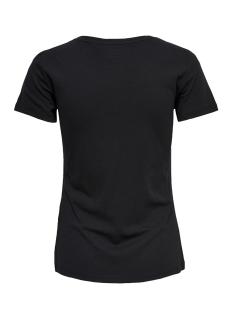 onpsamba ss regular tee box 15159482 only play sport shirt black/w. silver