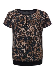 noelle dayz t-shirt animal black multi