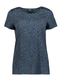 Vero Moda T-shirt VMKATRINE LI SS TOP LOCAL 10208824 Gibraltar Sea/LEO