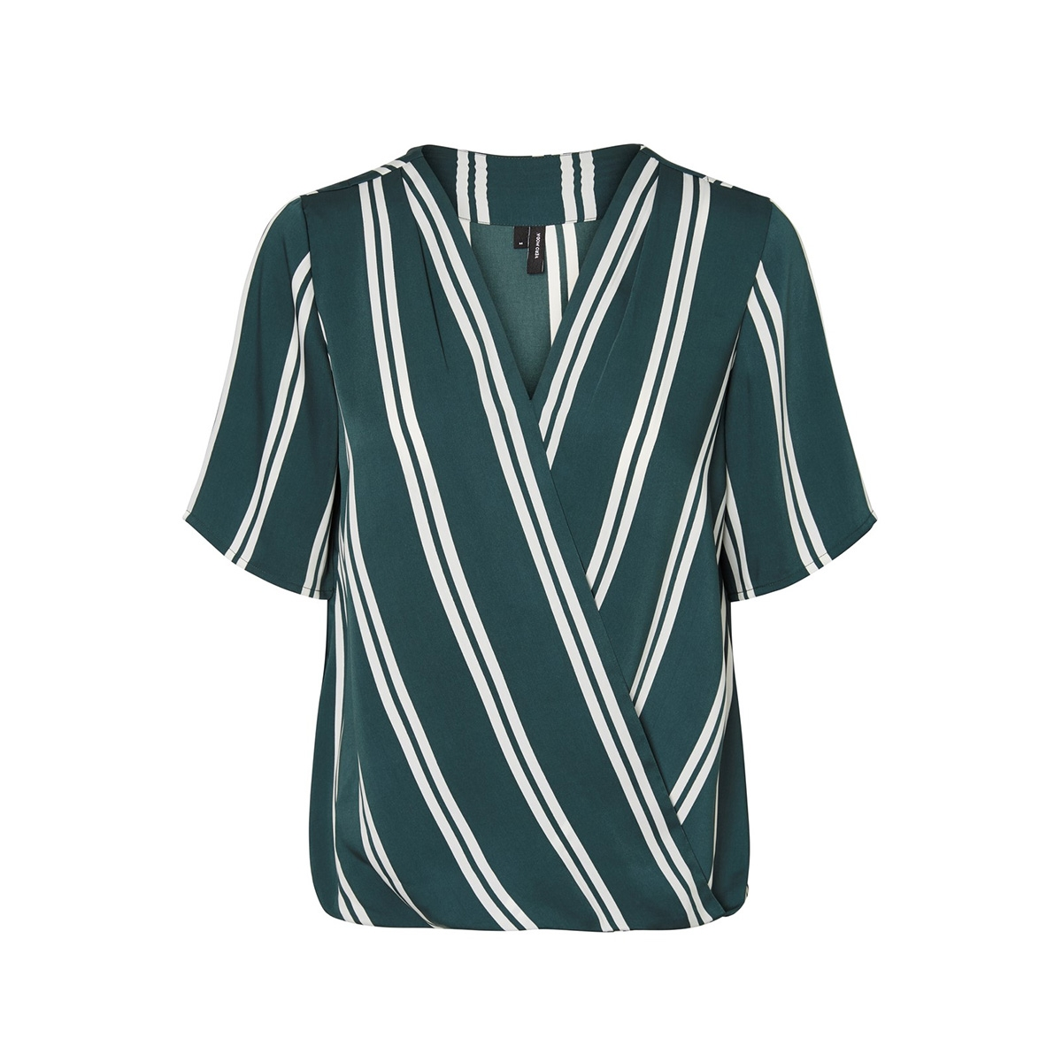 vmdalion v-neck 2/4 top sb8 10212592 vero moda t-shirt ponderosa pine