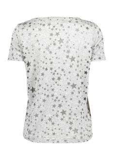 vmstar burnout s/s t-shirt d2-10203889 vero moda t-shirt light grey melange/star burnout