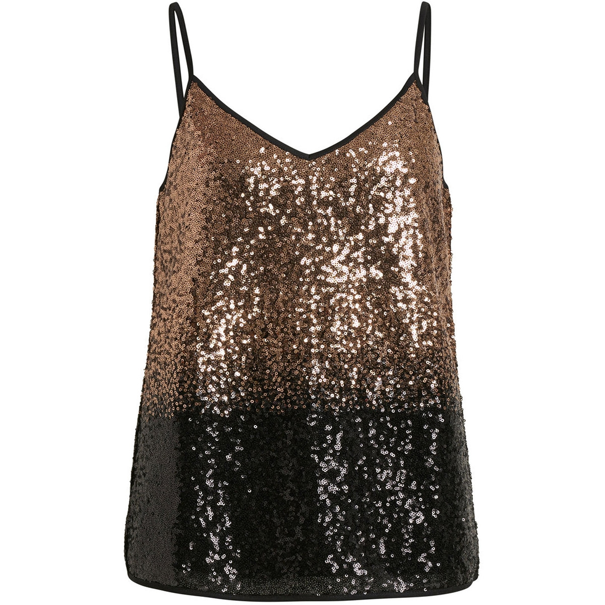 vielvia singlet 14049576 vila top black