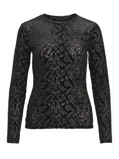 Object T-shirt OBJTURNER MARIANN L/S TOP100 23028122 Black