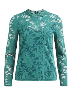 Vila Blouse VISTASIA L/S LACE TOP-FAV 14044847 Bayberry