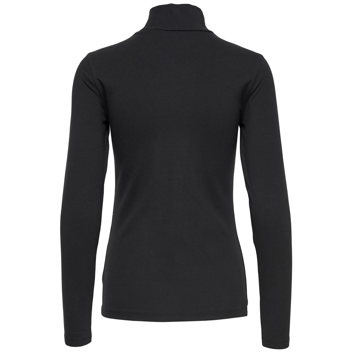 jdyava l/s turtleneck jrs 15165633 jacqueline de yong t-shirt black