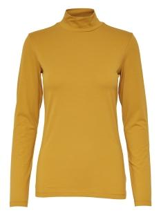 Jacqueline de Yong T-shirt JDYAVA L/S TURTLENECK JRS 15165633 Chai Tea