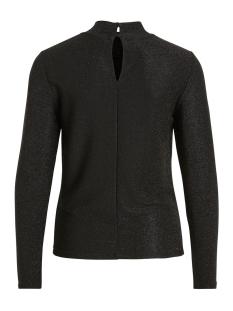 viglowa l/s top 14051035 vila t-shirt black/black lure