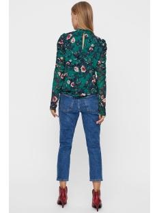 vmkaren ls high neck top 10206084 vero moda t-shirt alpine green/comb