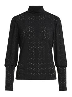 Object T-shirt OBJMALLORY L/S TOP 99 23027730 Black