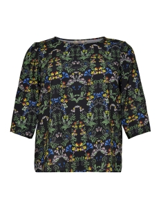 carlux cecilia 3/4 top aop 15167146 only carmakoma t-shirt fiesta/bright flower