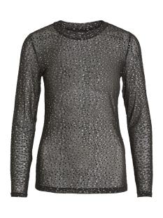 Object T-shirt OBJMONROE MARIANN L/S TOP 100 23028393 Black