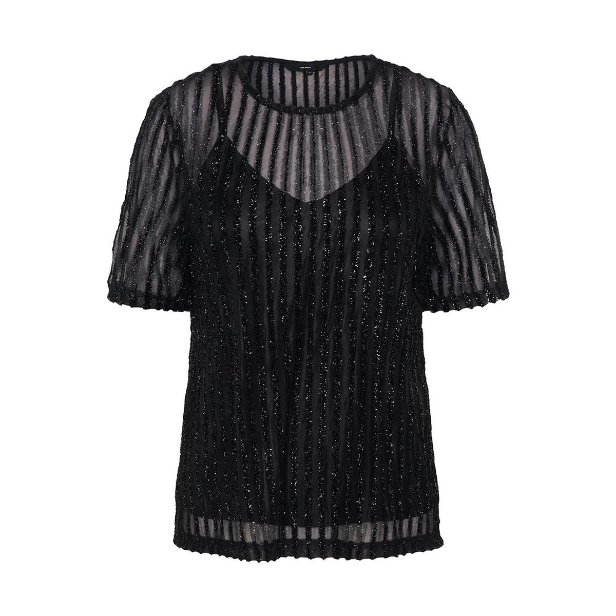 vmshane ss top 10206705 vero moda t-shirt black