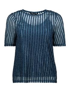 Vero Moda T-shirt VMSHANE SS TOP 10206705 Gibraltar Sea