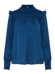 vmwonda l/s high neck d2-7 ki 10205011 vero moda blouse gibraltar sea