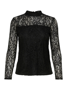 Only T-shirt onlSANTA CRUZ LS TOP WVN 15164775 Black