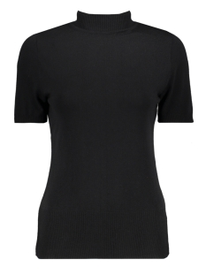 Zoso T-shirt Marnix Short Sleeve Rollneck BLACK