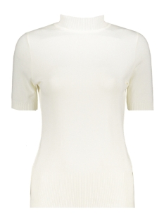 Zoso T-shirt Marnix Short Sleeve Rollneck OFF WHITE
