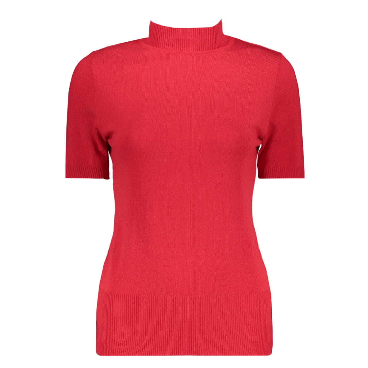 marnix short sleeve rollneck zoso t-shirt red